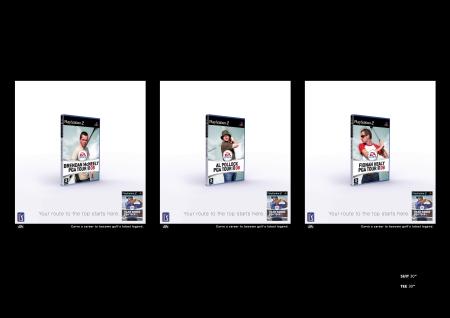 EA Sports 6-sheet x 3